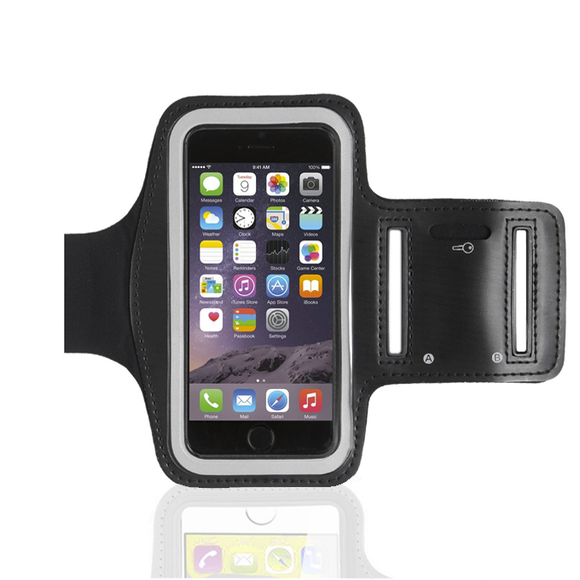 iPhone 6 Armband - Black - Tangled - 1
