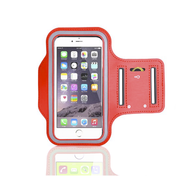 iPhone 6 Armband - Red - Tangled - 1