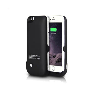 iPhone 6/6S Battery Case 6000mAh - Black - Tangled