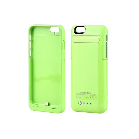 iPhone 6/6S Battery Case 3500mAh - Green