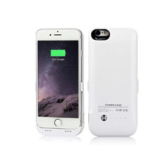 iPhone 6/6S Battery Case 6000mAh - White
