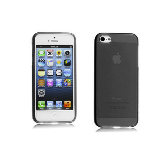 iPhone 5C Case - Black - Tangled