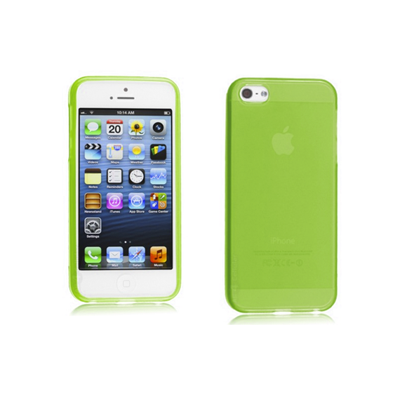 iPhone 5C Case - Green - Tangled