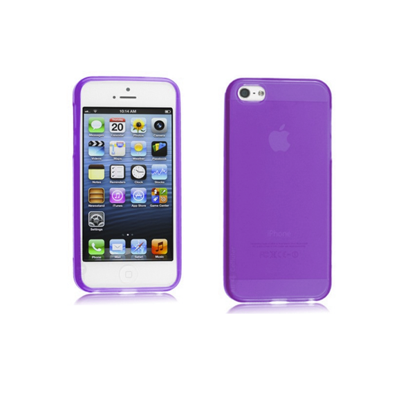 iPhone 5/5S Case - Purple - Tangled