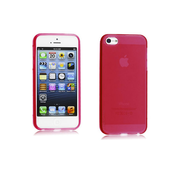 iPhone 5C Case - Red - Tangled