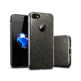 iPhone X/XS Glitter Case - Black