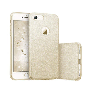iPhone 8 Plus Glitter Case - Gold