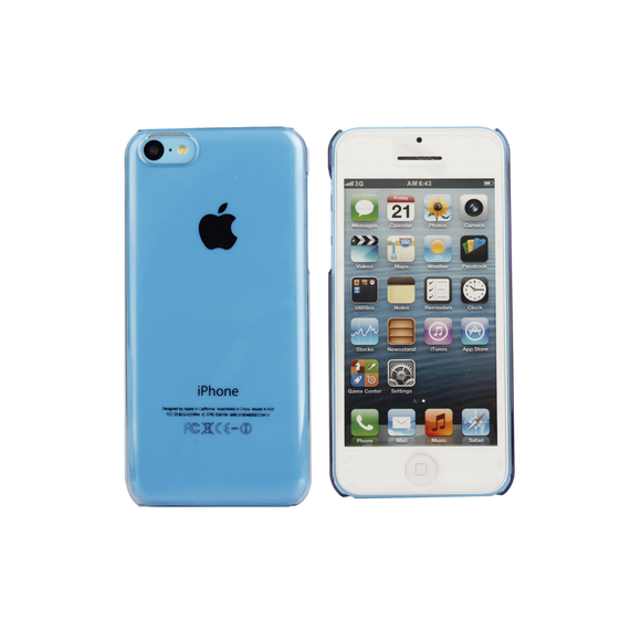 iPhone 5/5S Clear Case in Blue - Tangled