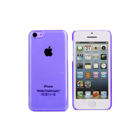 iPhone 5/5S Clear Case in Purple