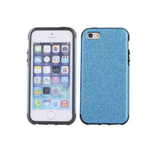 iPhone 5/5S Glitter Case - Blue - Tangled - 1