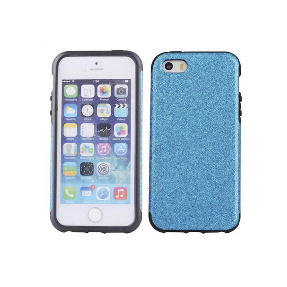 iPhone 7 Glitter Case - Blue - Tangled - 1