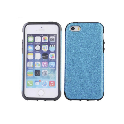 iPhone 7 Glitter Case - Blue