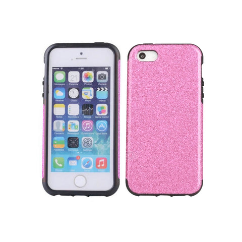 iPhone 8 Glitter Case - Pink