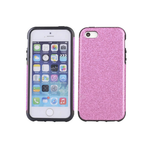 iPhone 5/5S Glitter Case - Pink