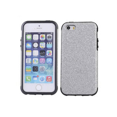 iPhone 5/5S Glitter Case - Silver