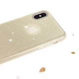 iPhone 7 Glitter Case - Gold