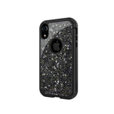 iPhone XR Robust Glitter Case - Black