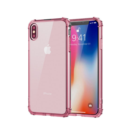 iPhone X ShockProof Case - Pink