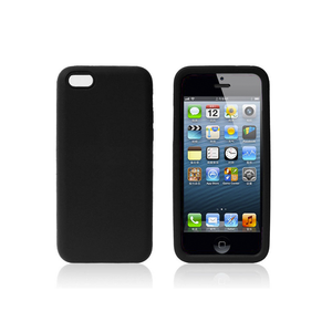 iPhone 5/5S Rubber Case in Black - Tangled
