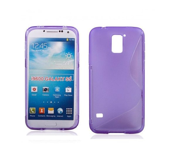Samsung S5 S-Line Case in Purple - Tangled - 1