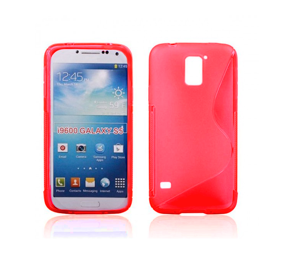 Samsung S5 S-Line Case in Red - Tangled - 1