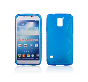 Samsung S5 S-Line Case in Blue - Tangled - 1