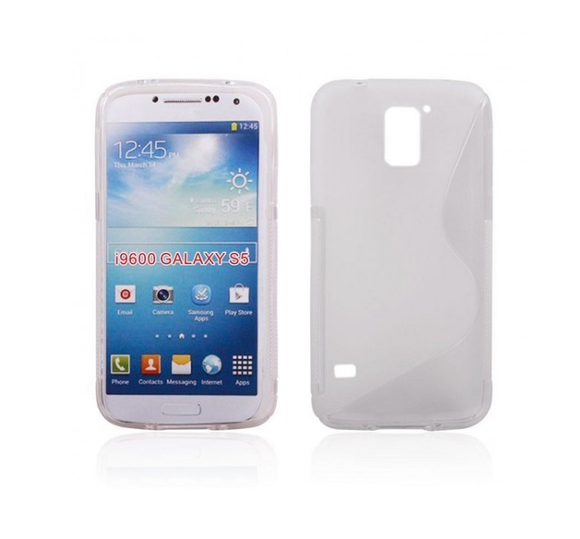 Samsung S5 S-Line Case in Clear - Tangled - 1