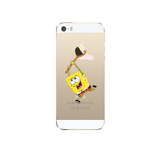 iPhone 5/5S SpongeBob Case - Tangled - 2