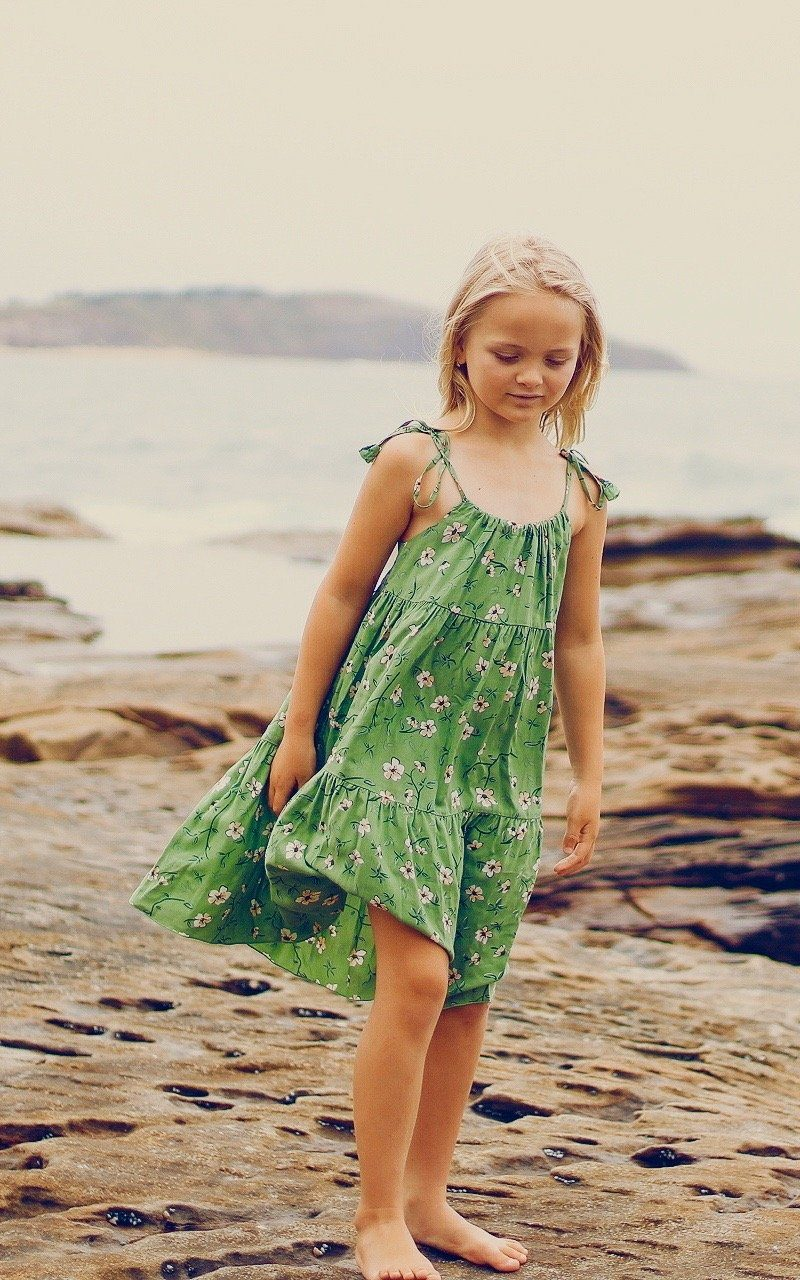 Zara Dress ⁓ Jade Girls dresses Wild Blossoms
