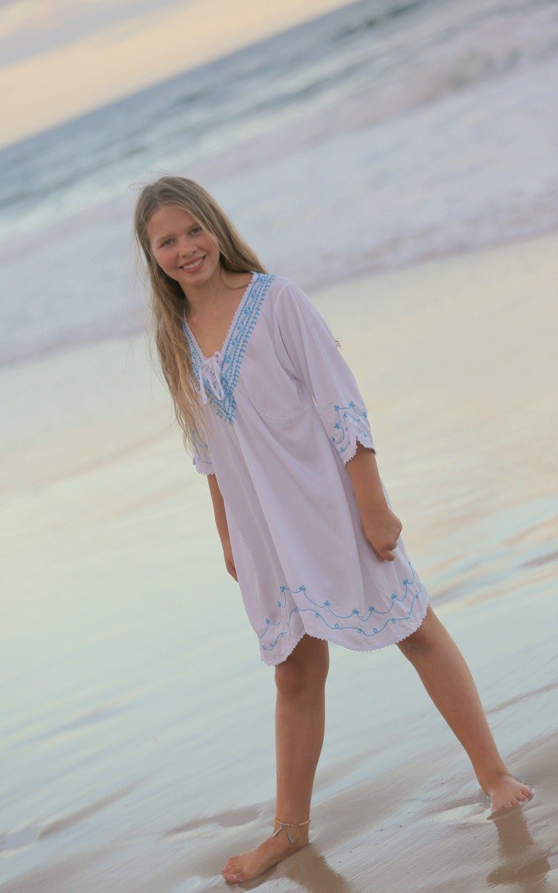 Boho Beach Dress for Girls