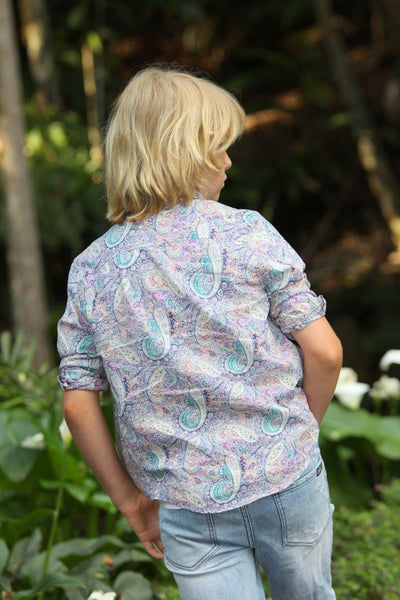 MAD ABOUT PAISLEY SHIRT shirts Wild Blossoms
