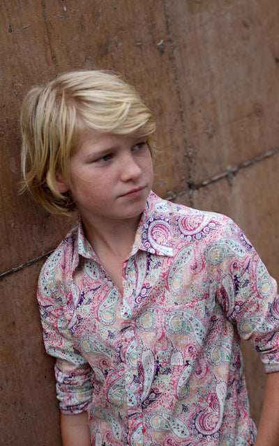 Boys Paisley Shirt