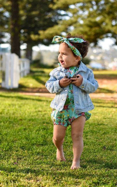 Baby Girl Romper ⁓ Blossom Onesies/Rompers Wild Blossoms