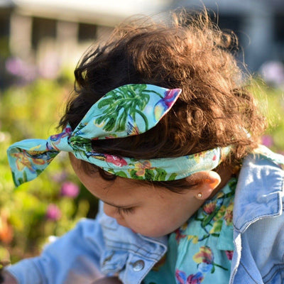 Baby Headwrap ⁓ Blossom accessories Wild Blossoms