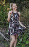 Lucy Dress ⁓ Midnight Sparkle Tween & teen dresses Wild Blossoms