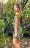 Girls Leopard Print Dress