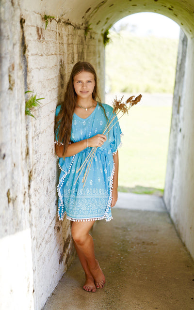 Girls Boho Kaftan