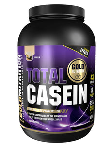 Total casein 900g - Muscle support - GoldNutrition Hong Kong