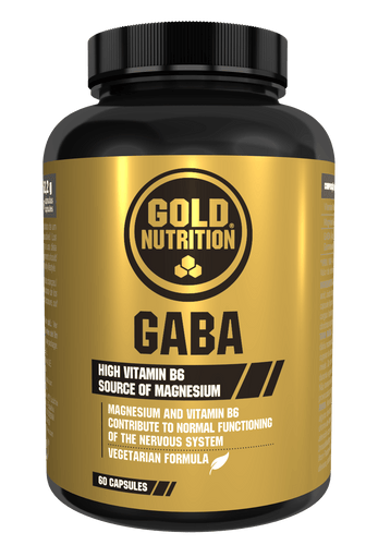 Gaba 500mg 60 caps - Anxiety & Stress - GoldNutrition Hong Kong
