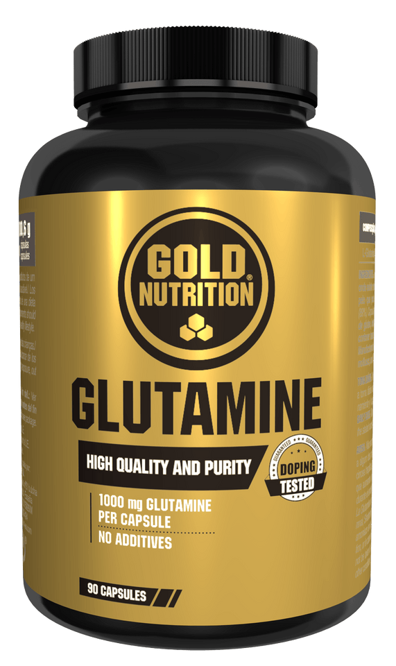 Glutamine 1000mg 90 tabs - Muscle mass & anti-catabolic action - GoldNutrition Hong Kong