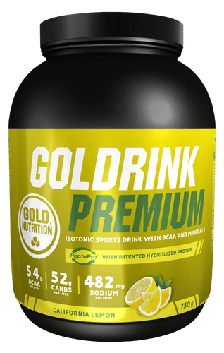 Goldrink Premium 750g - Elite Hydration - EXPIRES END OF DECEMBER - 40% OFF - GoldNutrition Hong Kong