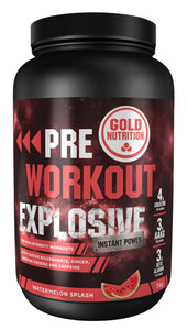 Pre-workout explosive 1kg - Explosive strength - GoldNutrition Hong Kong