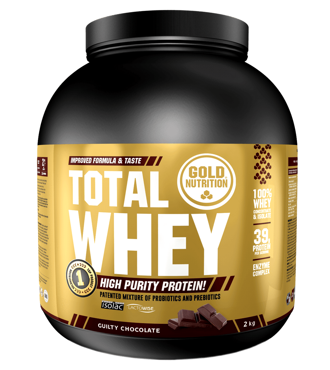 Total whey with probiotics & prebiotics: 10% off - 1kg & 2kg - GoldNutrition Hong Kong
