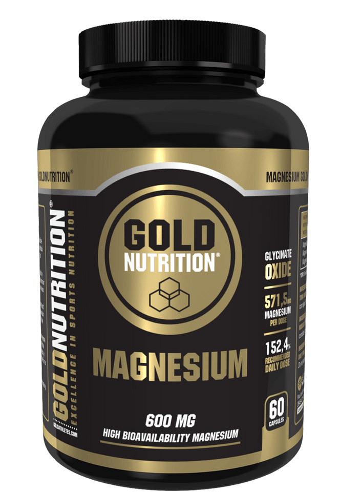 Magnesium Glycinate 600mg 60 caps - Muscle soreness & Cramps - GoldNutrition Hong Kong