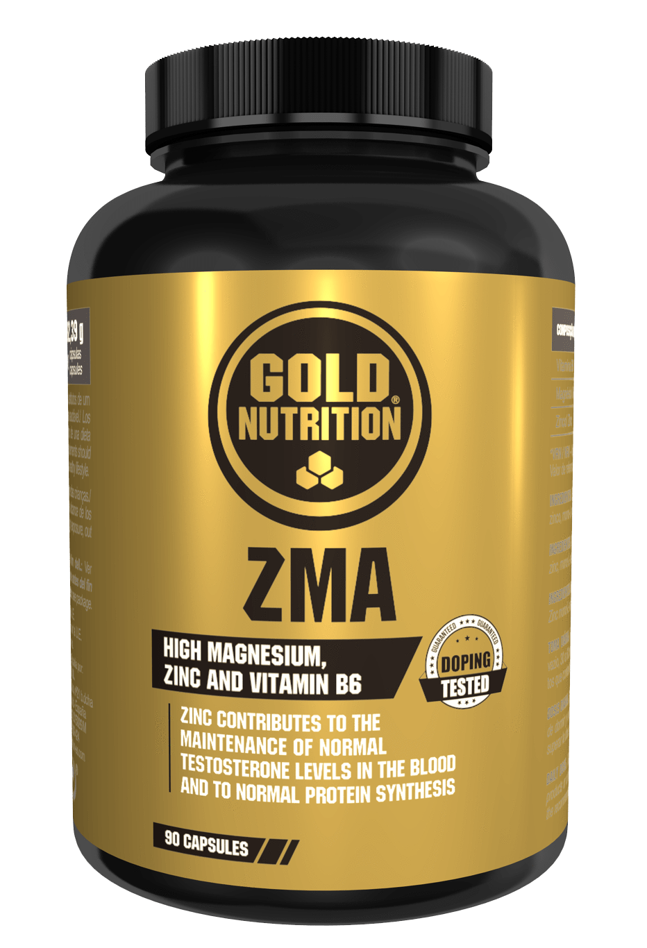 ZMA™ 90 caps - Muscle recovery & Strength - GoldNutrition Hong Kong