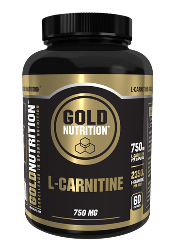L-carnitine 750mg 60 Caps - Transform fatty acids into energy - GoldNutrition Hong Kong