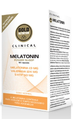 Melatonin power sleep 30 caps - Insomnia & Jet lag - GoldNutrition Hong Kong