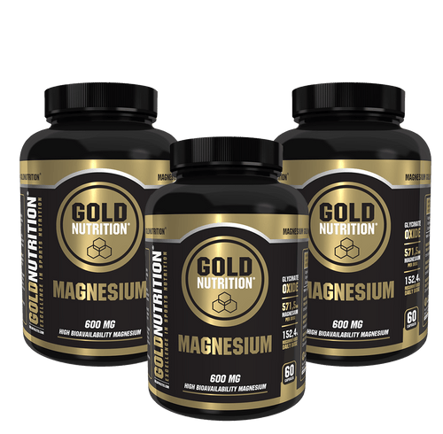 PACK 3 MAGNESIUM 600MG - GoldNutrition Hong Kong