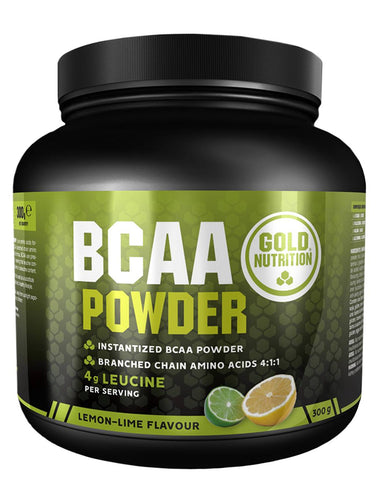 BCAA's 4:1:1 300G powder - Muscle recovery & Fatigue - GoldNutrition Hong Kong