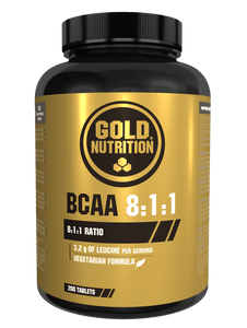 BCAA's 8:1:1 200 tabs - Muscle building & Recovery - GoldNutrition Hong Kong